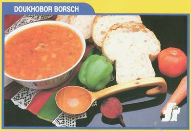 Doukhobor Food Recipes